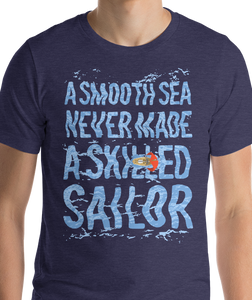 A Skilled Sailor | Men's Premium T-shirt