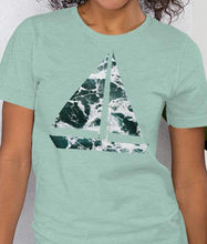 Load image into Gallery viewer, Yacht Waves Pattern | Women's Premium T-Shirt