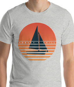 Sunset & Chill | Men's Premium T-Shirt
