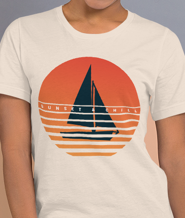 Sunset & Chill | Women's Premium T-Shirt