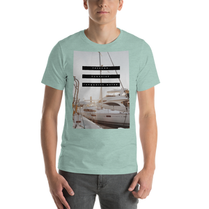 Freedom. Sunshine. Turquoise Water. | Men's Premium T-Shirt