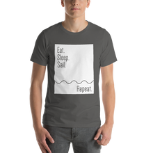 Load image into Gallery viewer, Eat. Sleep. Sail. Repeat. | Men's Premium T-shirt