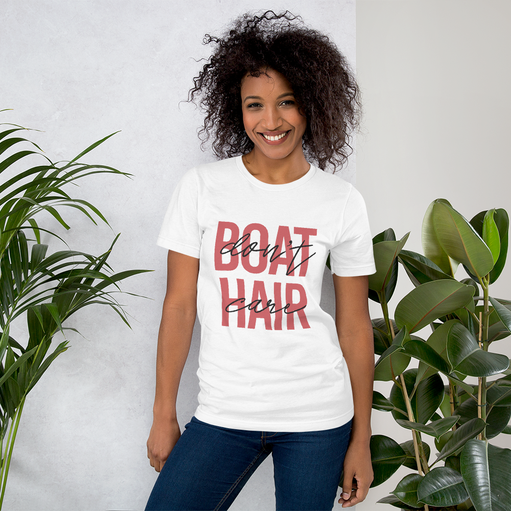 Boat Hair, Don't Care | Women's Premium T-Shirt