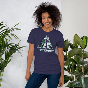Yacht Waves Pattern | Women's Premium T-Shirt