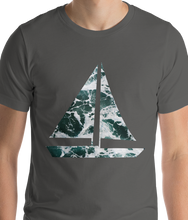 Load image into Gallery viewer, Yacht Waves Pattern | Men's Premium T-Shirt