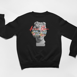 Greek God Sweatshirt - Black - Avenue Born