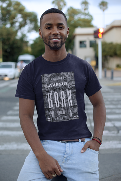 Church T-Shirt - Navy - Avenue Born