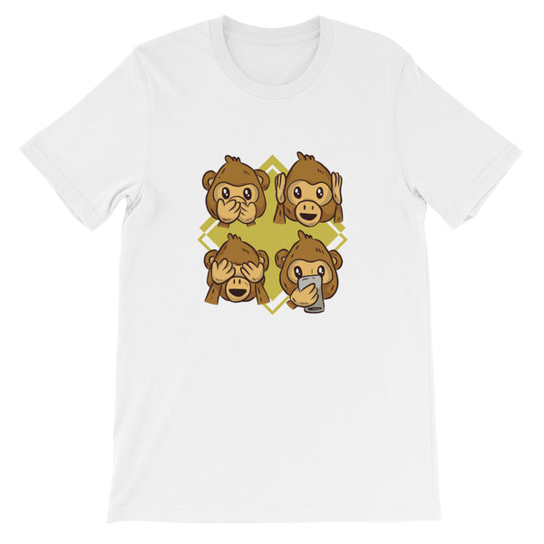 Monkey Phone T-Shirt - Avenue Born
