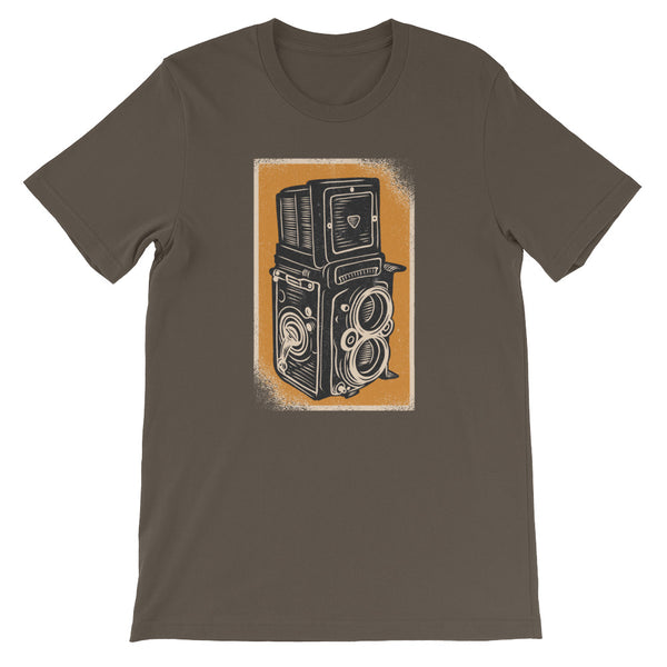 Rolleiflex Camera T-Shirt - Avenue Born