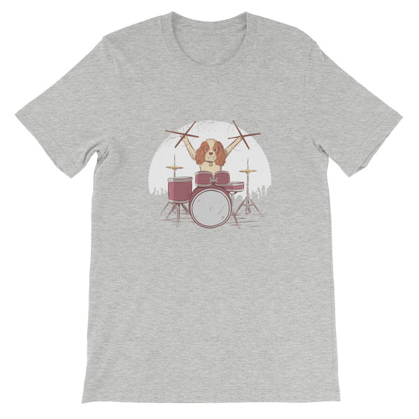 Drummer Dog T-Shirt - Avenue Born