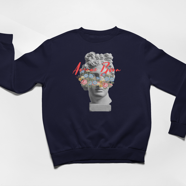 Greek God Sweatshirt - Navy - Avenue Born
