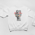 Greek God Sweatshirt - White - Avenue Born