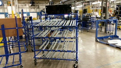 Micro Wheel Conveyor - 10'