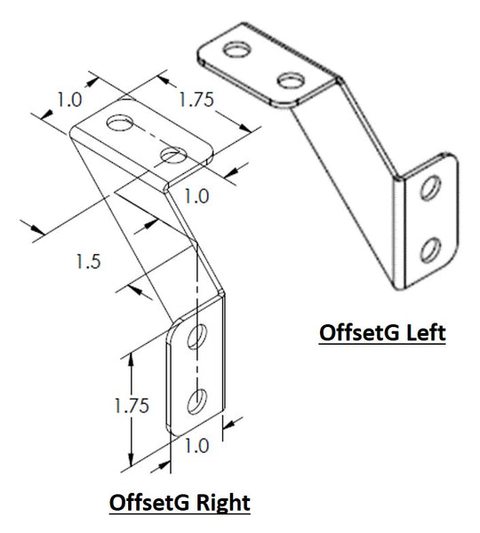 Offset Gusset - Left
