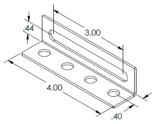 Slotted Flow Bracket