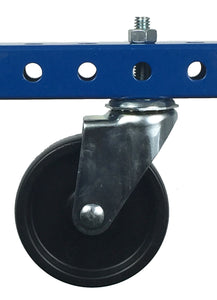 "3"" Polyolefin Stem Caster - 120 lb Weight Limit"