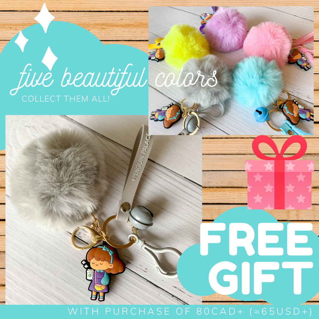 FREE GIFT with purchase of 80CAD+ (≈65USD+)