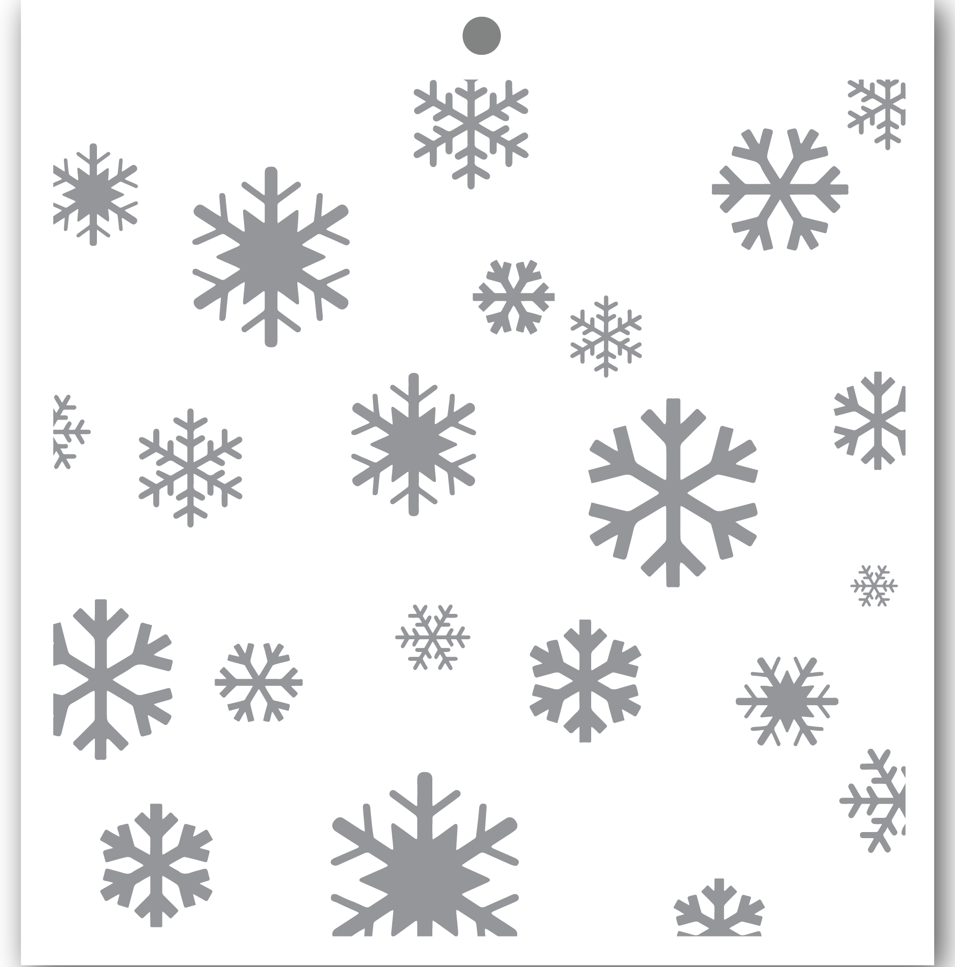 Crystal Snowflakes - Penguin Perfect Patterns