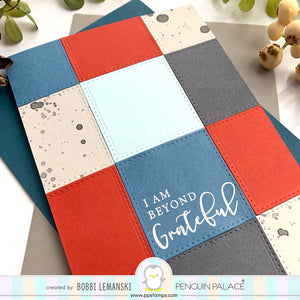 Warmest Wishes and Heartfelt Notes - Coordinating Penguin Perfect Cuts