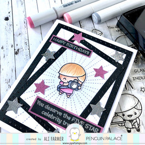 Mysterious Galaxy - Medium Weight Premium Cardstock