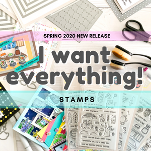 I Want EVERYTHING!  Spring 2020 New Release Bundle (Stamps)