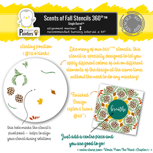 Scents of Fall Stencils 360°™