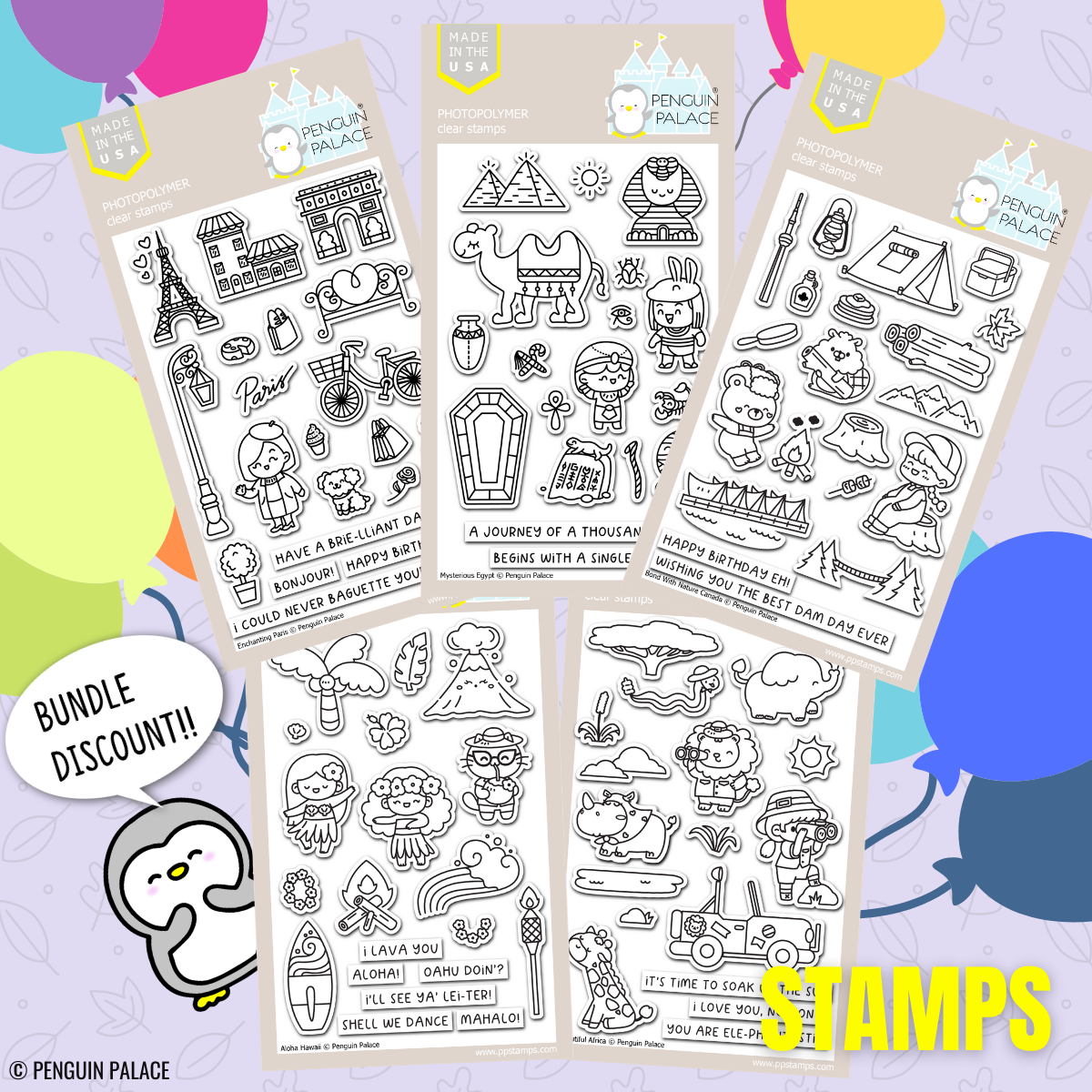 Spring 2021 New Release Stamps Bundle