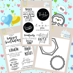 Words From the Heart (Chapters 1 & 2) Stamps and Dies Bundle