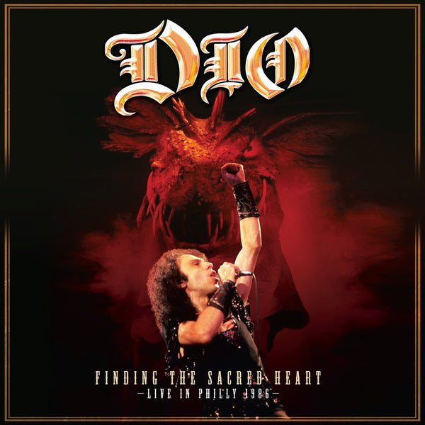 Dio - Finding The Sacred Heart - Live In Philly 1986 2xLP