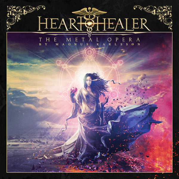 Heart Healer - The Metal Opera by Magnus Karlsson 2xLP