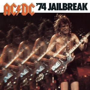 74 Jailbreak on AC/DC bändin albumi LP.