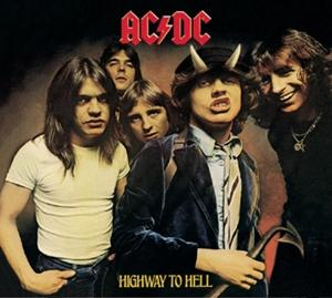 Highway To Hell on AC/DC bändin albumi LP.
