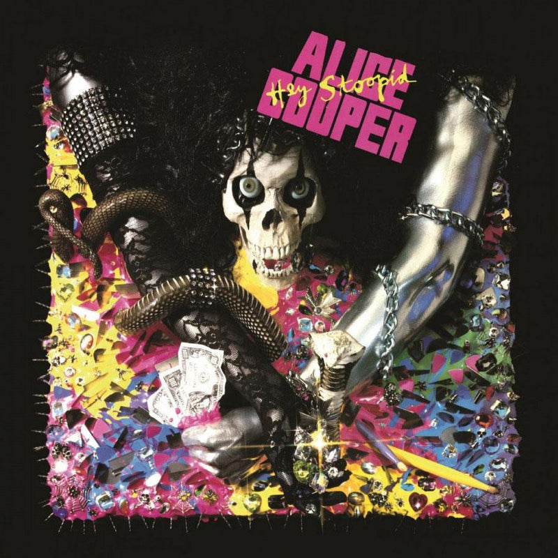 Hey Stoopid on Alice Cooper artistin albumi.
