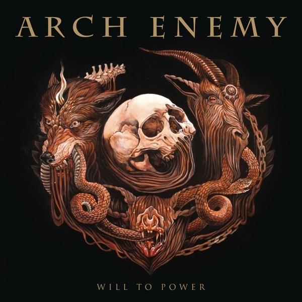 Will To Power on Arch Enemy bändin vinyyli LP.