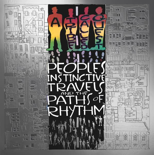 People's Instinctive Travels And The Paths Of Rhythm on A Tribe Called Quest bändin vinyyli LP.