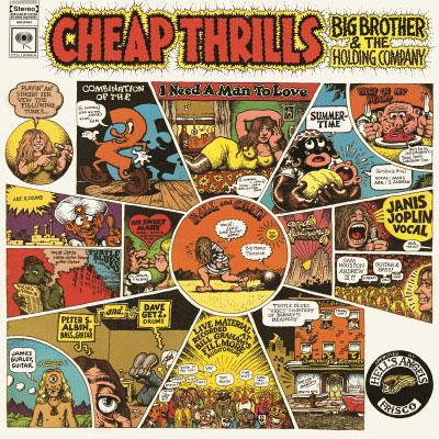 Cheap Thrills on Big Brother & The Holding Company bändn vinyyli LP.
