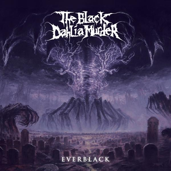 Everblack on Black Dahlia Murder bändin vinyyli LP.