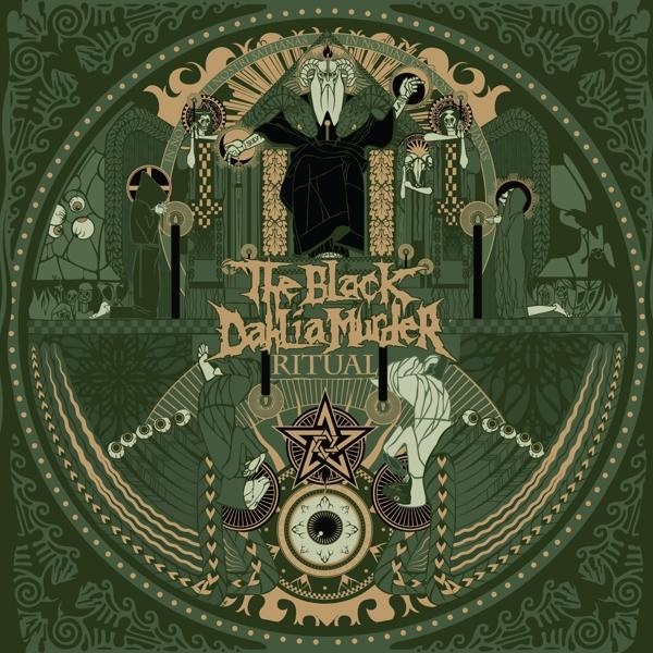 Ritual on Black Dahlia Murder bändin vinyyli LP.