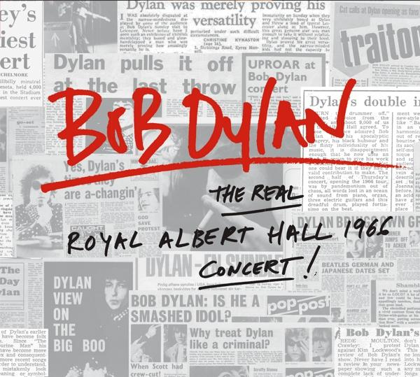 The Real Royal Albert Hall 1966 Concert! on Bob Dylan artistin vinyyli LP.