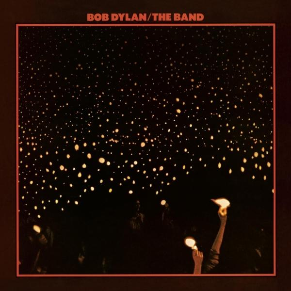 Before The Flood on Bob Dylan & The Band bändin vinyyli LP.
