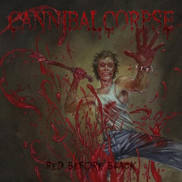 Red Before Black on Cannibal Corpse bändin vinyyli LP.