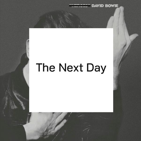 The Next Day on David Bowie artistin vinyyli LP.