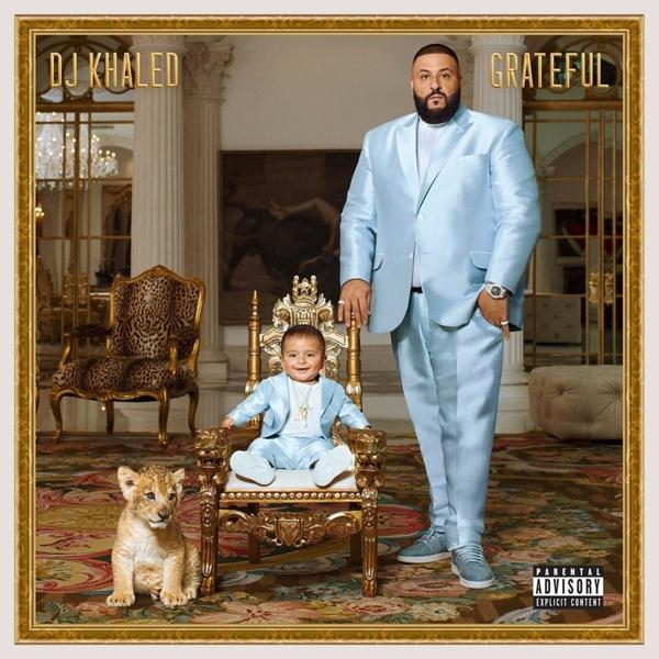 Grateful on Dj Khaled bändin vinyyli LP.