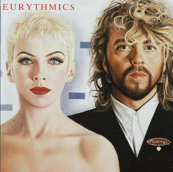 Revenge on Eurythmics bändin vinyyli LP.