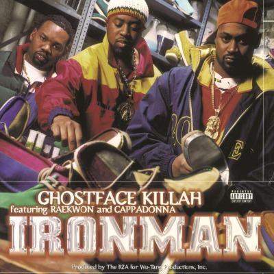Ghostface Killah - Ironman on Ghostface Killah artistin LP-levy.
