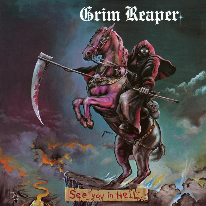 See You In Hell on Grim Reaper artistin LP-levy.