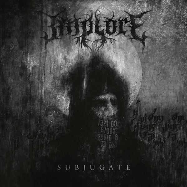 Subjugate on Implore bändin vinyyli LP.