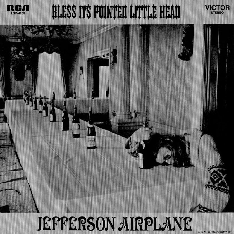 Bless Its Pointed Little Head on Jefferson Airplane bändin vinyylilevy