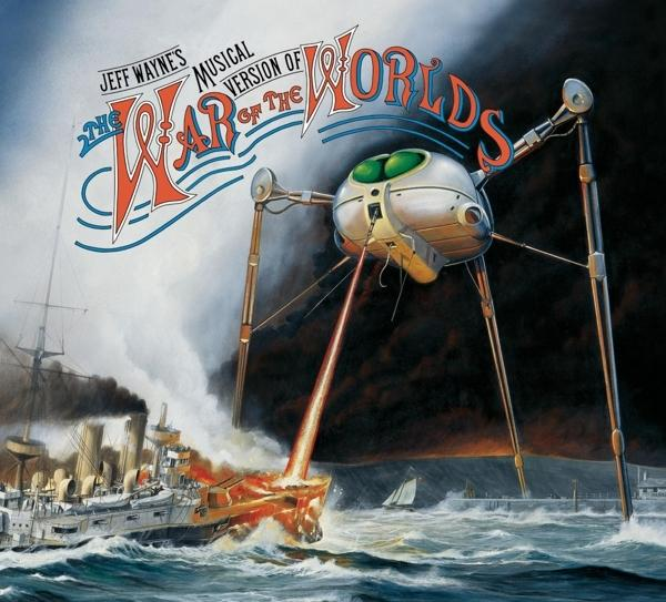Musical Version Of The War Of The Worlds on Jeff Wayne artistin vinyyli LP.