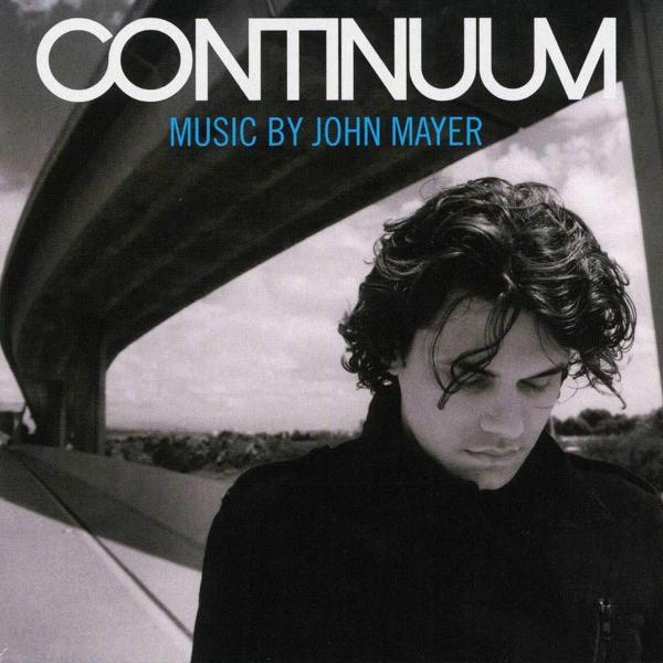Continuum on John Mayer artistin LP-levy.
